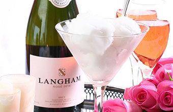 Langham Fizz Rosé Sorbet